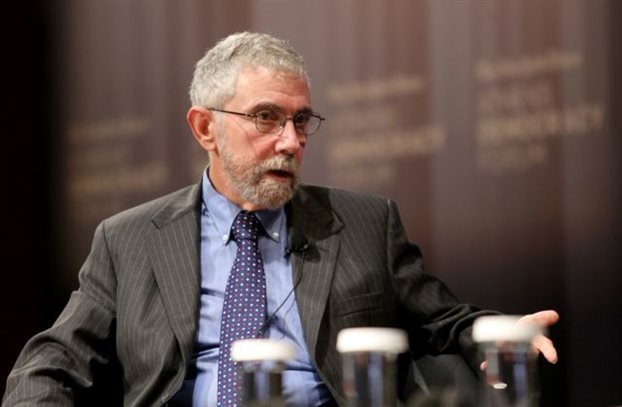 Κρούγκμαν: «Η Ελλάδα θα έπρεπε να είχε εγκαταλείψει το ευρώ».