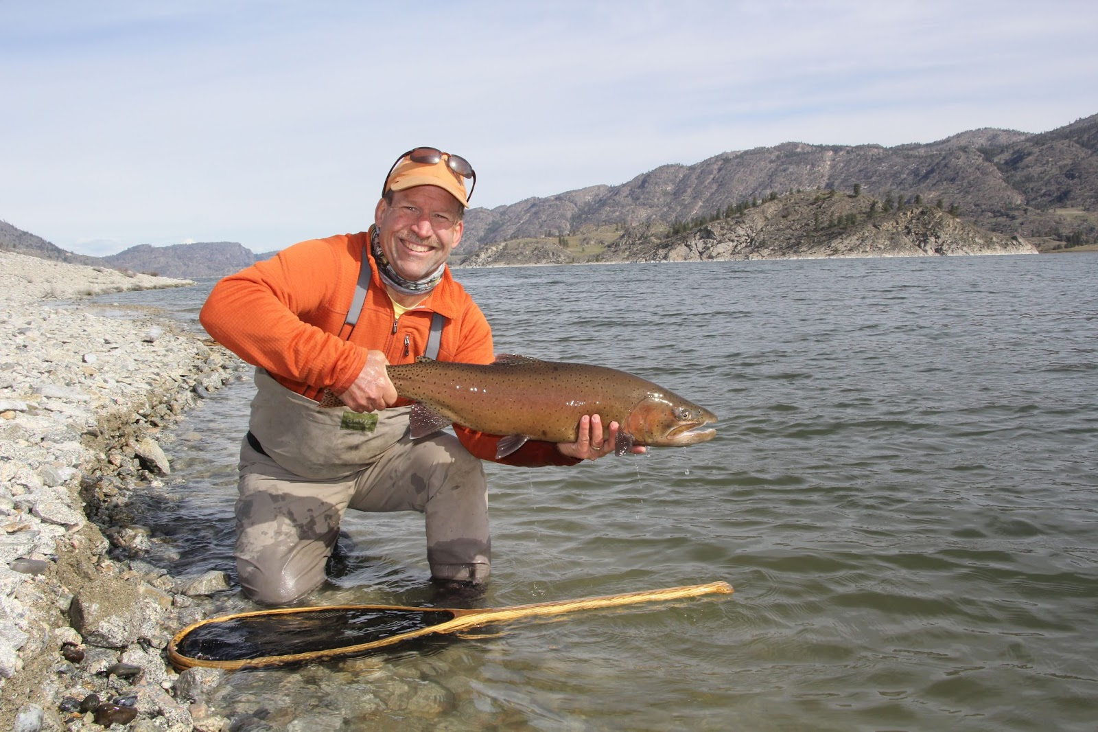 Central alberta fly tying club lahontan cutthroat trout for Fly fishing washington state