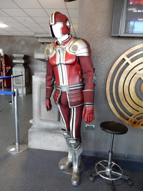 Gallifreyan guard costume Doctor Who