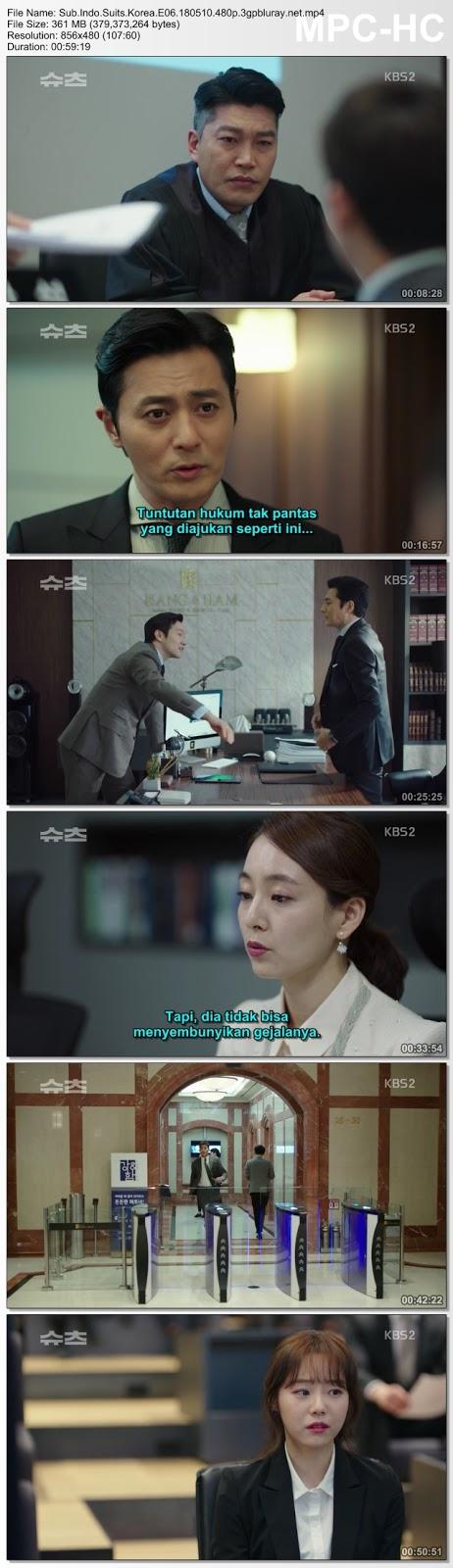Screenshots Download Drama Korea Suits aka Shucheu aka 슈츠 (2018) Episode 06 HDTV 1080p 720p 480p 3GP MP4 NEXT Subtitle Indonesia Google Drive Free Full Movie Online