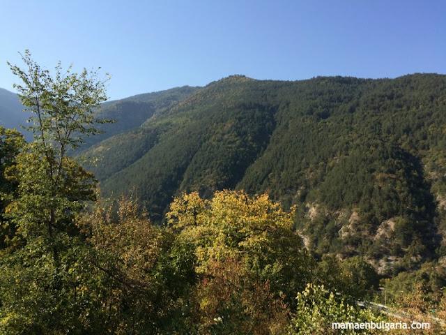 Monasterio de Bachkovo reserva Chervenata Stená Bulgaria
