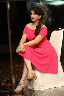 Actress Anchor Manjusha Latest Pictures in Pink Short Dress  0163.JPG