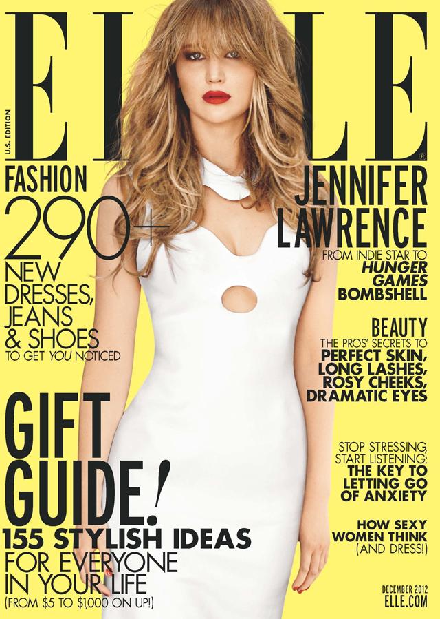 Jennifer Lawrence elle cover