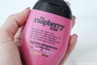 Treaclemoon Handcreme - The Raspberry Kiss - www.annitschkasblog.de