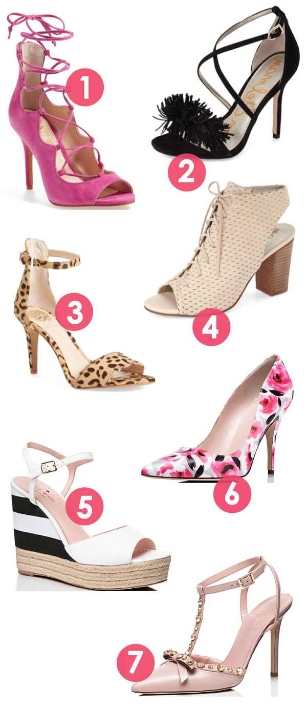 2016 Spring Shoe guide