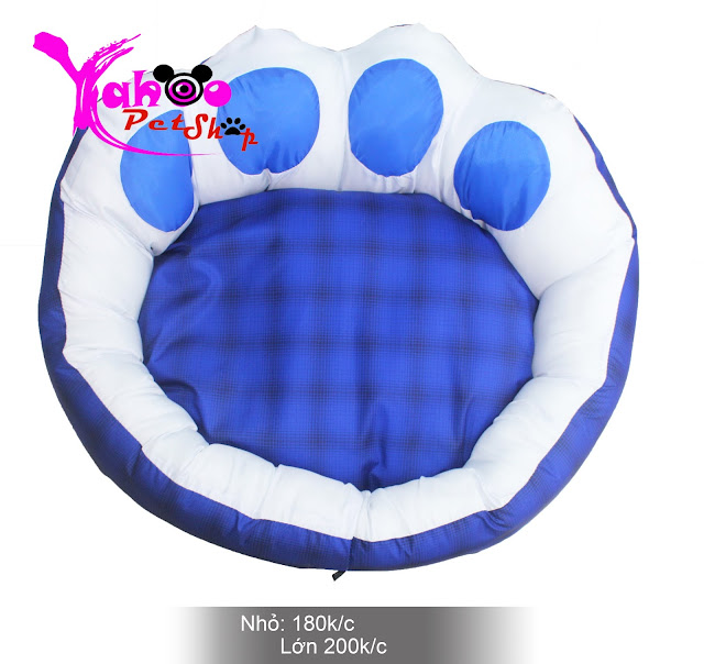 Nệm cún mèo hình dấu chân chó