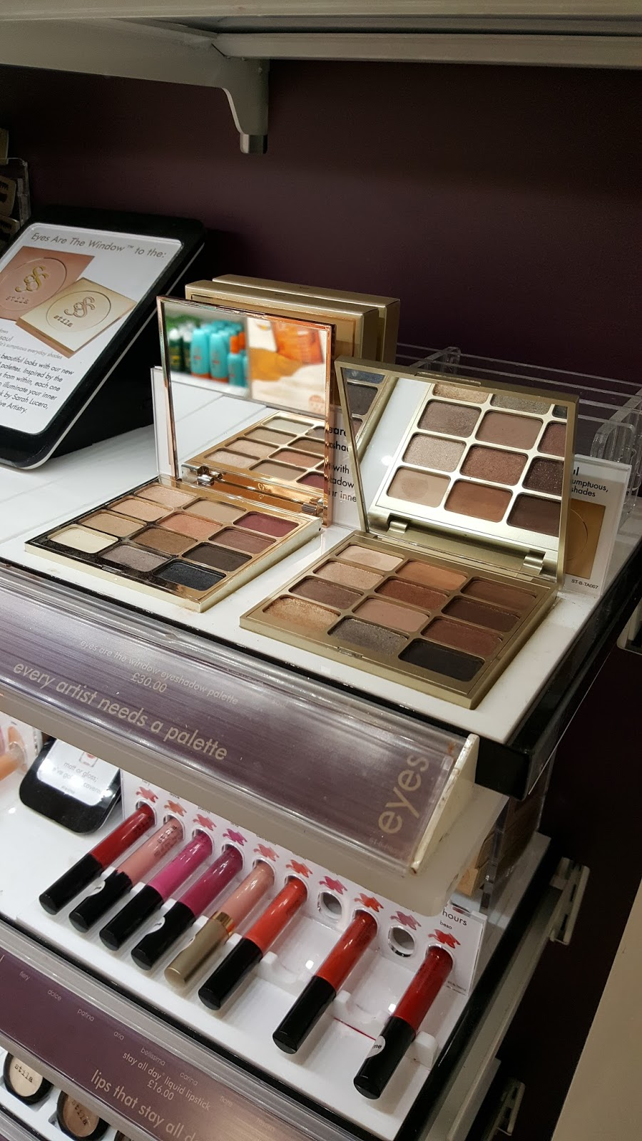 Stila Palette, M&S Makeup, Derby M&S, Katie Writes,