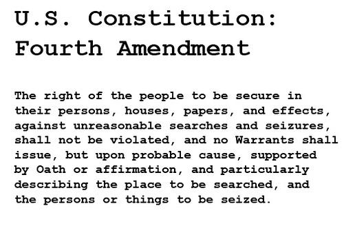 Fourth Amendment Activities