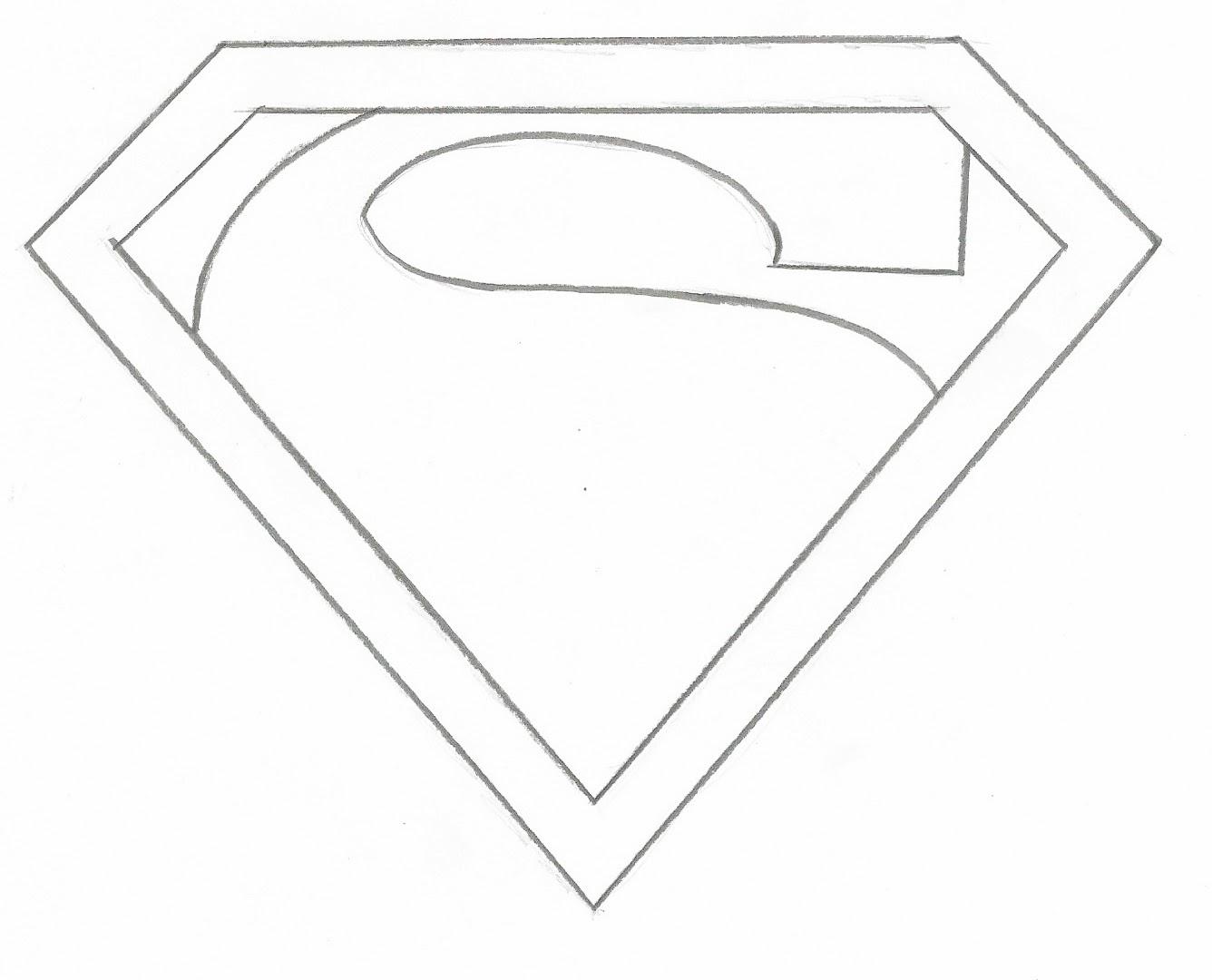 28+ [logo de superman para pintar 28 images dibujo de]