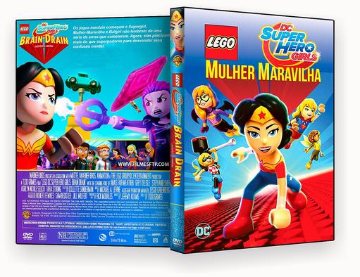 CAPA – Lego Mulher Maravilha 2017 DVD-R