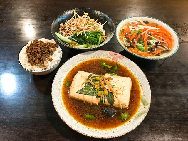 蒸功夫臭豆腐~中和南勢角素食