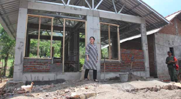 Puan Pastikan Pembangunan Rumah Korban Gempa Berjalan Lancar