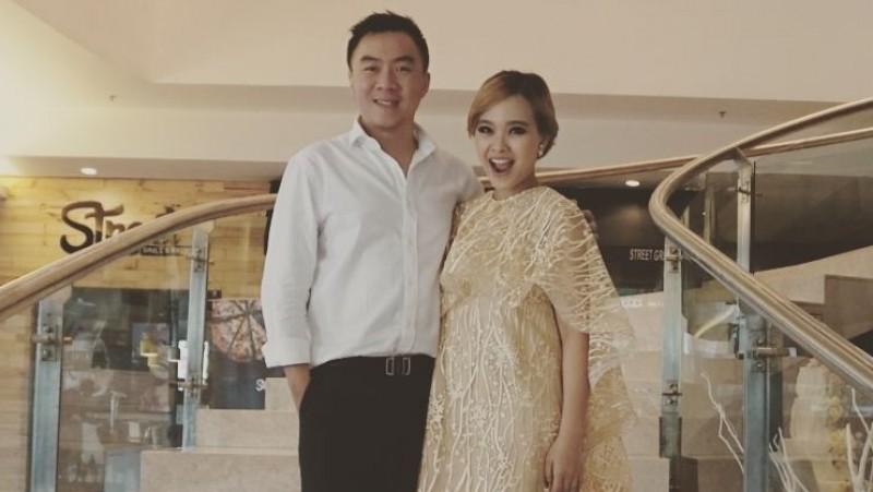 Winda Viska dan suaminya, Mulyadi Tan alias Ahi
