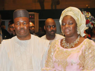 Senator Godswill Akpabio celebrates his wife, Ekaette, as she turns 45 today