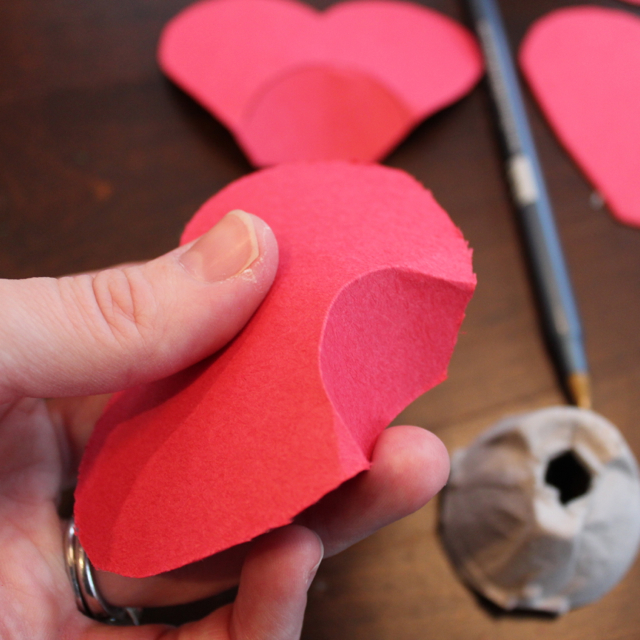 Egg Carton Crafts For Valentines Day Www Picswe Com