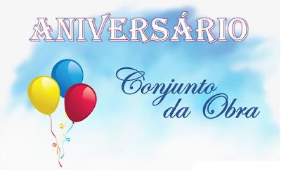 SORTEIO #27 - ANIVERSÁRIO DO BLOG CONJUNTO DA OBRA