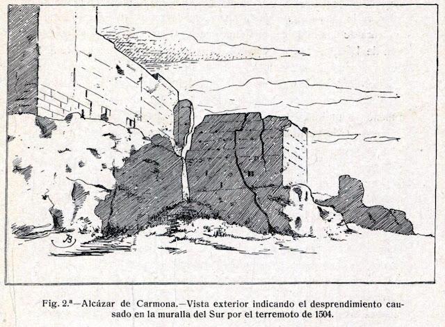 Terremoto de Carmona y los Alcores 1504.