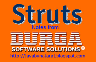 Struts notes by Mr.Ramesh from DurgaSoft_JavabynataraJ