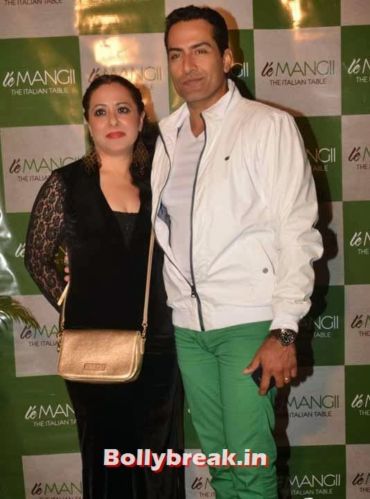 Sudhanshu, Page 3 Celebs at 'Le Mangii' Launch Party