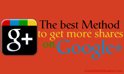 Google Plus Shares