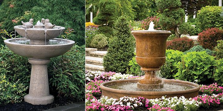 Diy Water Fountain For Unique Small Garden View Decor Units