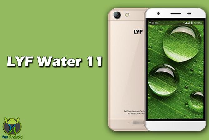 LYF Water 11 Dual SIM TD-LTE Full Specs Datasheet
