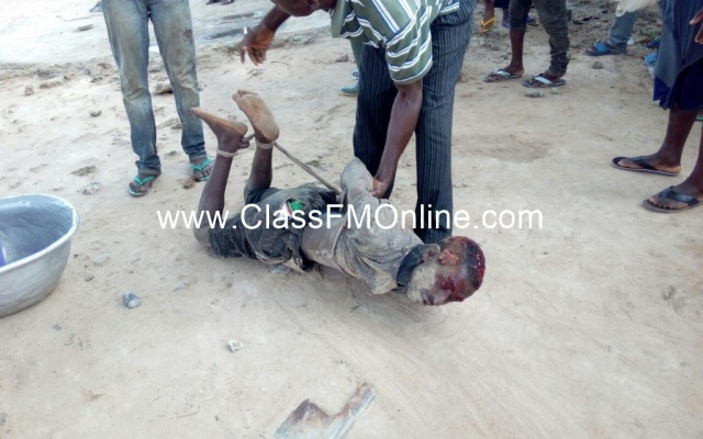 Graphic: Man slaughters 80yr-old granny, butchers 2 others