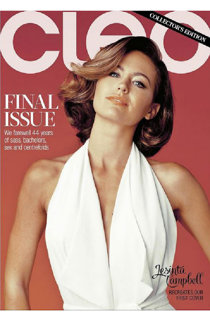 CLEO magazine Last Cover - Jestina Campbell final issue