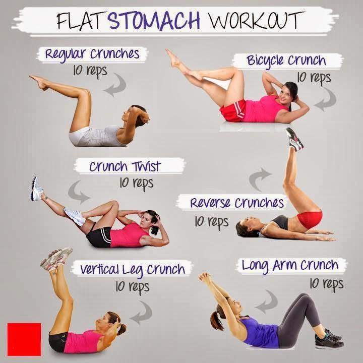 flat stomach workouts - photo #1