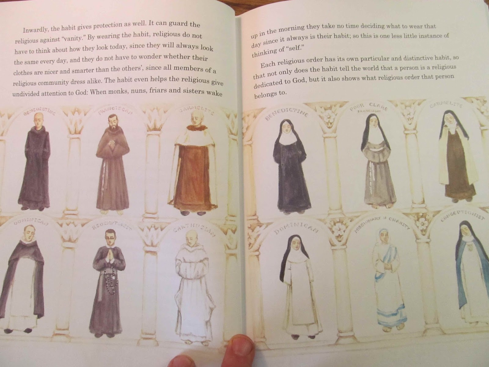 Pages from Cristina Borges, Of Bells and Cells. Pages from Maria  Montessori, The Mass Explained to Children