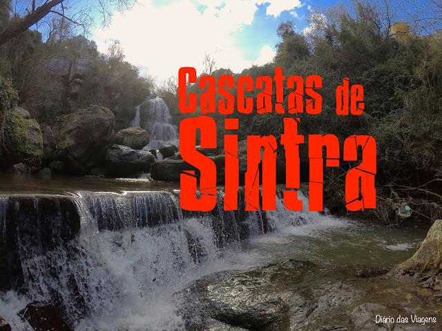 Visitar as Cascatas de Sintra, Portugal