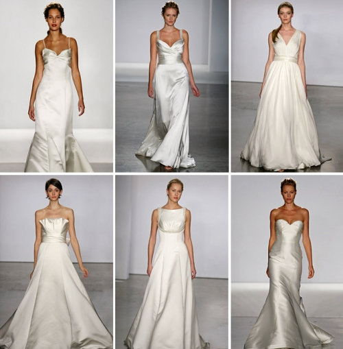 KIND OF DRESS, CLOTHES, FASHION: Simple Wedding Dress