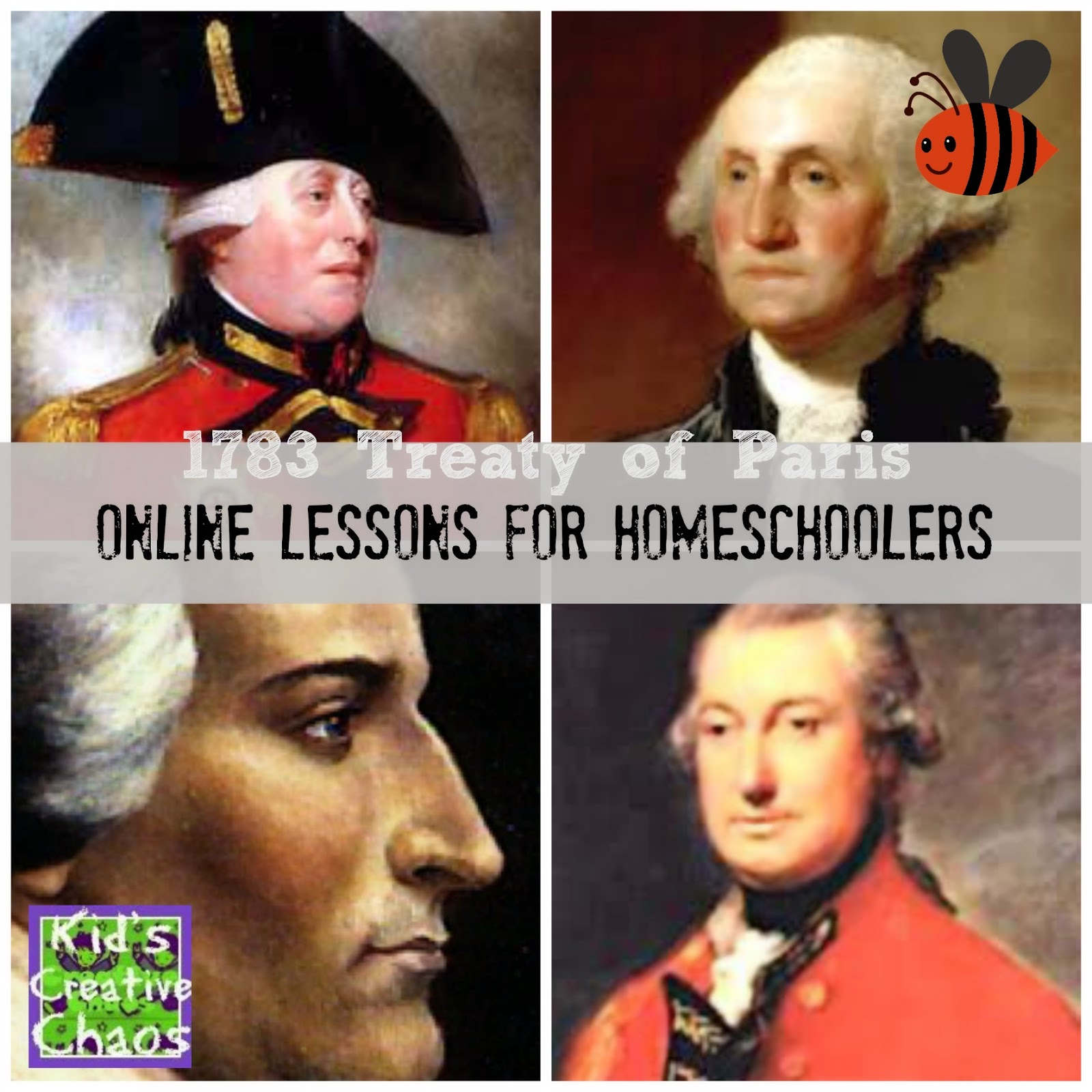 Social Studies for Kids: Treaty of Paris Free Online Lesson for Homeschoolers