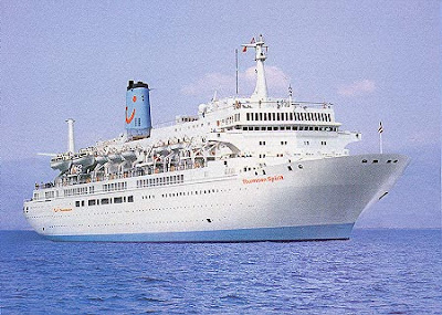 Celestryal Cruises' Thomson Spirit on Charter to UK Operator Thomson Cruises.