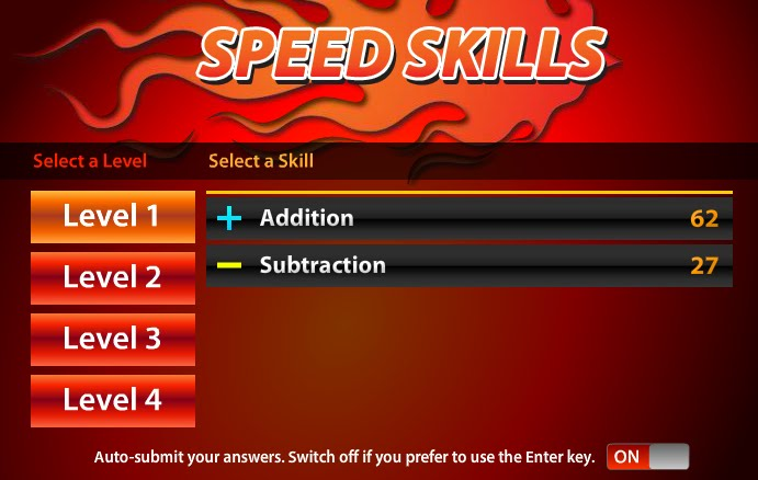 math speed skills