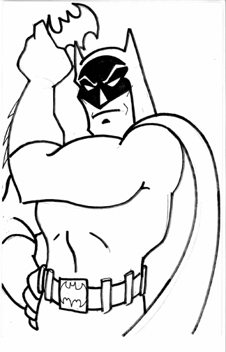 Blog Megadiverso Batman Para Colorear Y Descargar