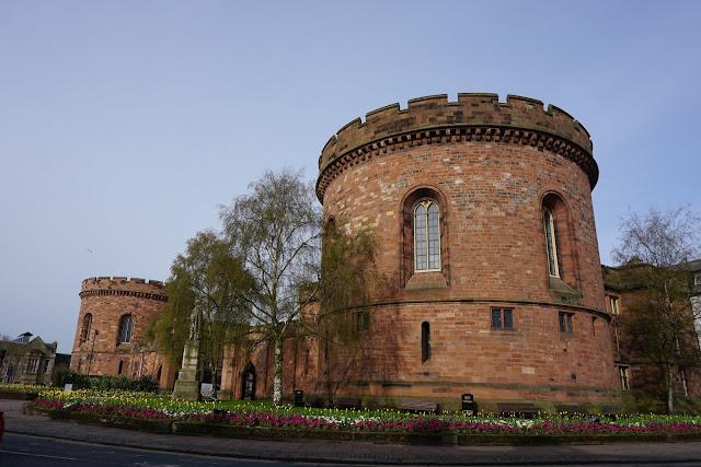 Carlisle's stunning city gates - C. Gault 2018