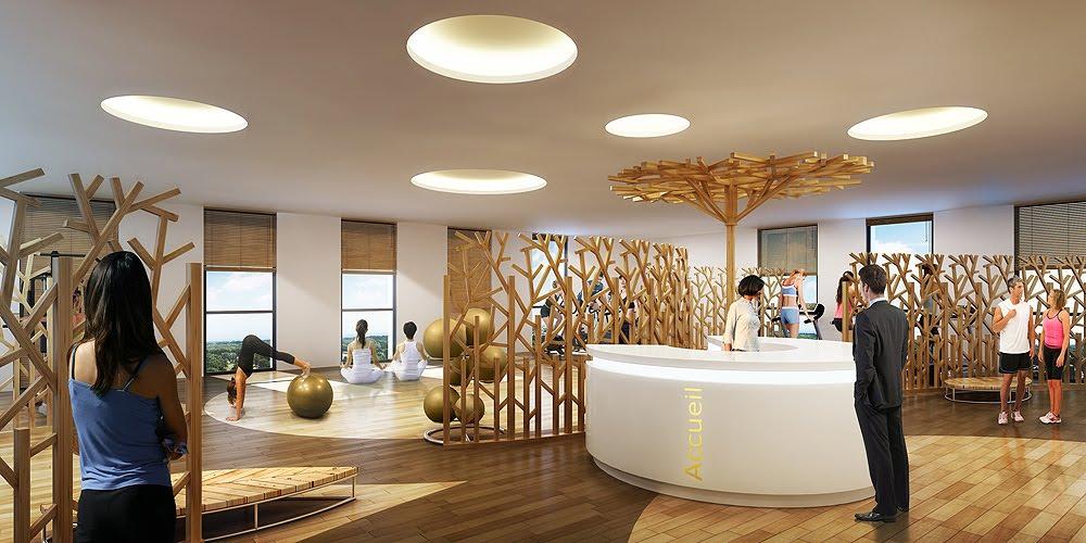 perspectives 3d architecture janvier 2012. Black Bedroom Furniture Sets. Home Design Ideas