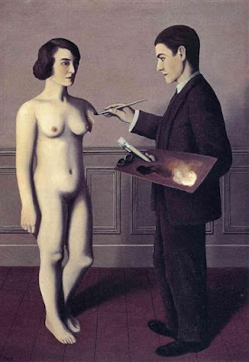 Rene Magritte - Attempting the impossible,1928.