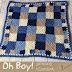 Patrón: Manta básica ideal para principiantes del crochet! :)