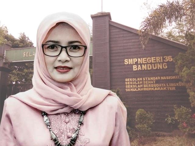 Guru SMPN 36 Bandung Raih Anugerah Satya Lencana Pendidikan Berprestasi