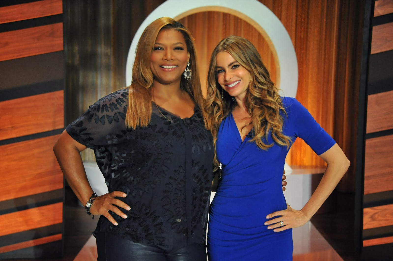 SNEAK PEEK: Queen Latifah Talks Fashion with Sofia Vergara