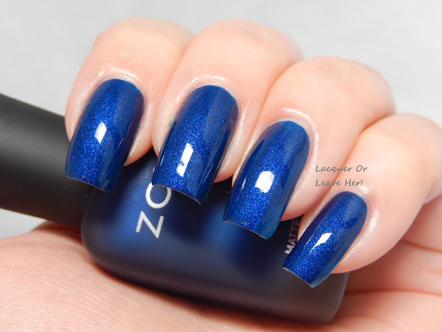Zoya Yves with topcoat