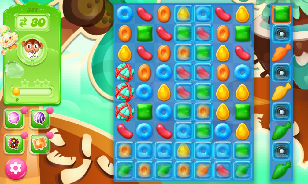 Candy Crush Jelly Saga 357