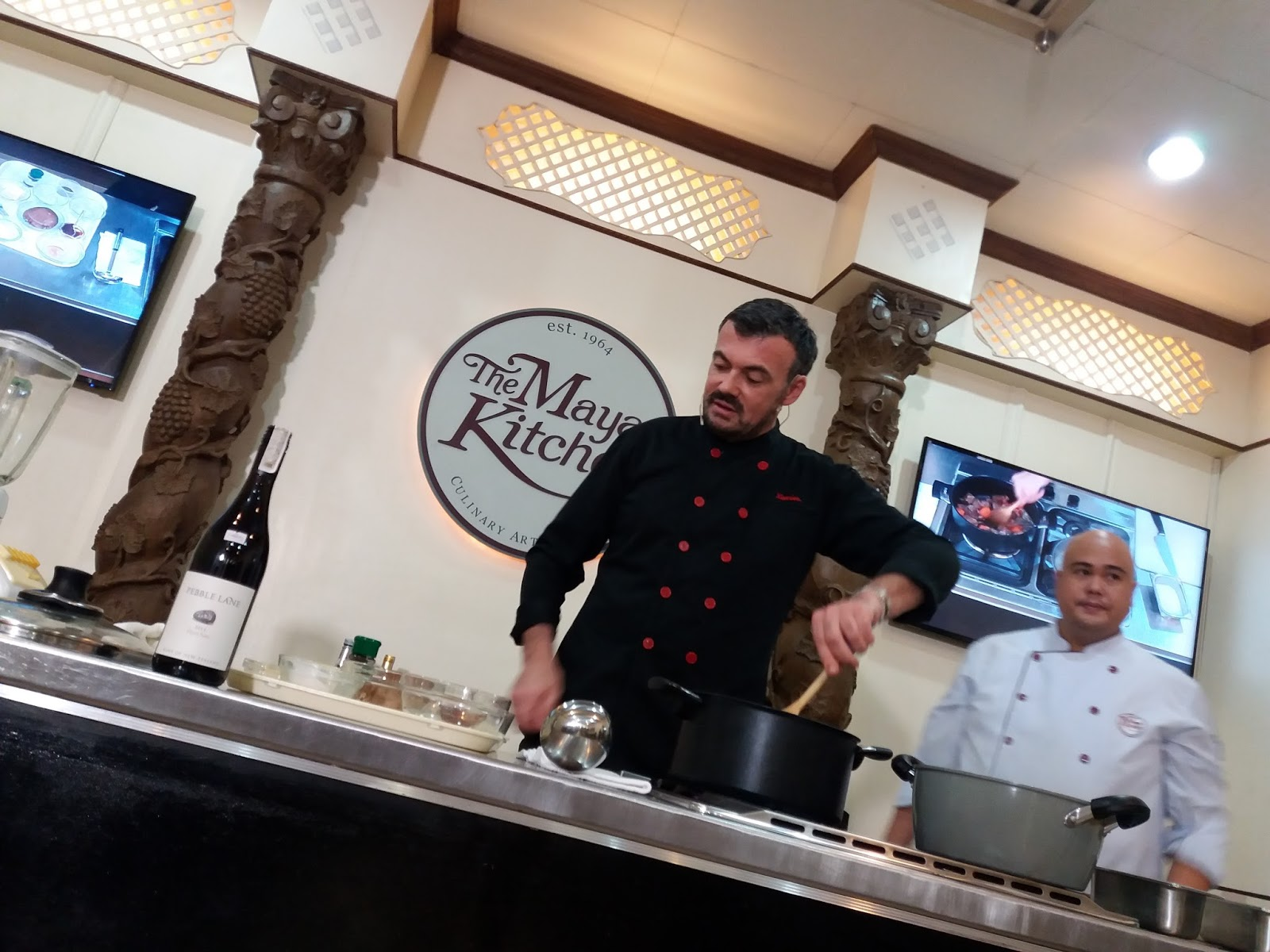 French Cooking on the Filipino home with Chef Xavier Btesh