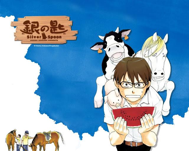 Manga Silver Spoon powraca