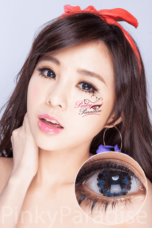 G&G Tulips Blue Circle Lenses (Colored Contacts)