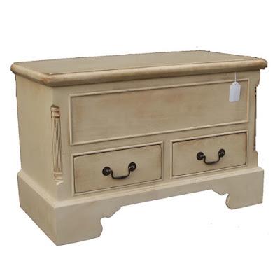 Blanket box teak minimalist furniture with natural color,interior classic furniture.code010106