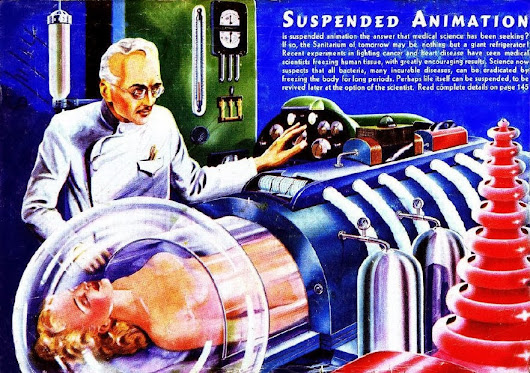 cryonic suspension 4 consider, arguably, the most pertinent argument for cryonics by considering utility, weighing up the possible benefits and costs to society, and considering cryonic suspension within the framework of a.