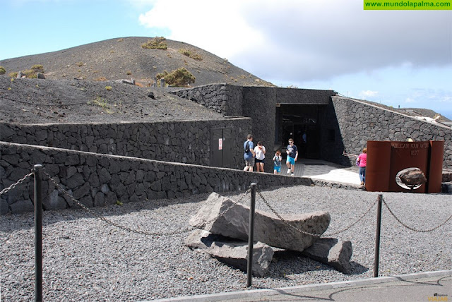 El Centro de Visitantes del Volcán de San Antonio vuelve a  superar los 100.000 visitantes anuales